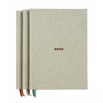 Notes Notebook Grey Coral Stationery Decoration Finnish Design Shop