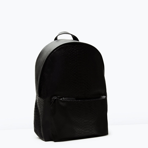 Embossed Rucksack Man New This Week Zara United Kingdom