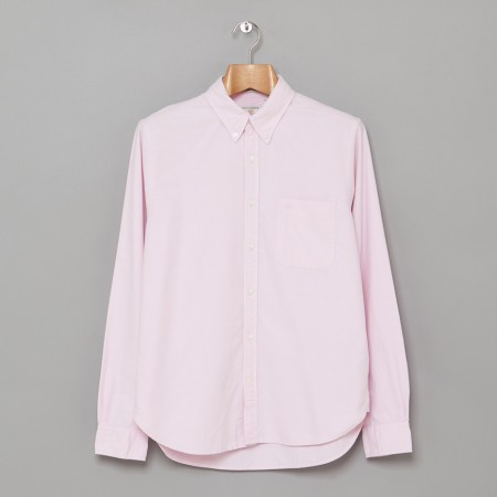 Button Down Oxford Wyeth Pink Oi Polloi