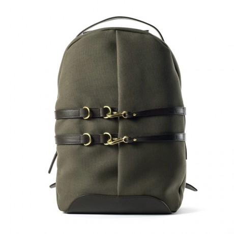 Mismo Army Green Canvas Ms Sprint Backpack