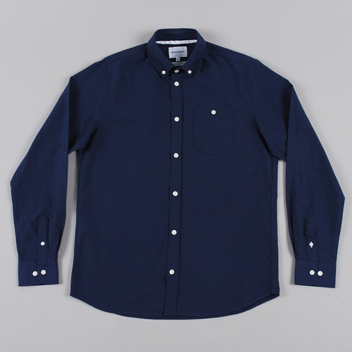 Norse Projects Anton Oxford L S Shirt Dark Navy