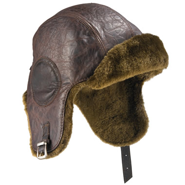 The Flying Fortress Aviator s Hat Hammacher Schlemmer