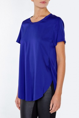 3.1 Phillip Lim Overlapping Side Seam Silk Shirt By 3.1 Phillip Lim