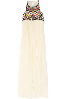 Sass bide The Lifechangers embroidered silk blend maxi dress NET A PORTER COM