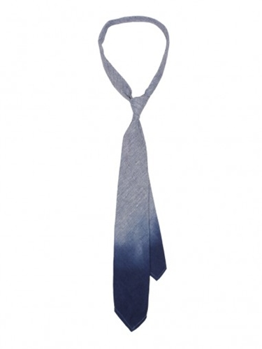 Oliver Spencer Tie Blue Dip Dye Ties