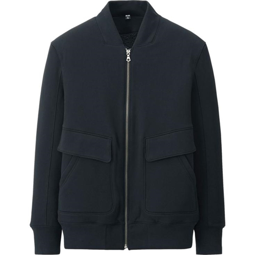Men Urban Sweat Full Zip Jacket Uniqlo
