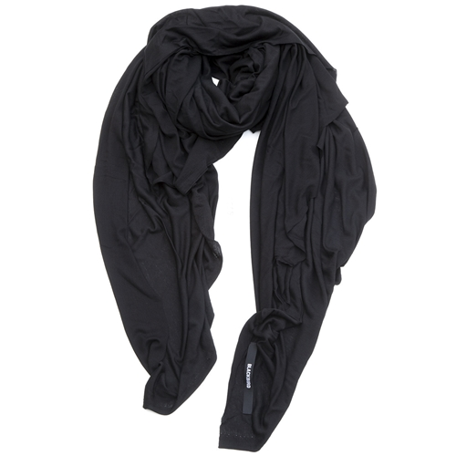 Boundless Scarf No.550 Antimatter Blackbird