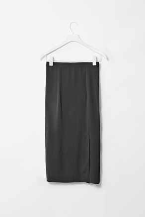 Skirt with front split