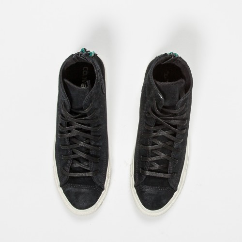 Converse Chuck Taylor High Top Black Suede Atoo Menswear