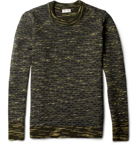 Balenciaga Textured Wool Blend Sweater MR PORTER