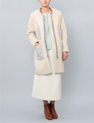 Rachel Comey Nexus Coat Light Grey