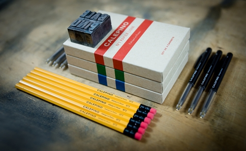 The Calepino Panoplie Pocket Notebooks Pens And Wooden Pencils