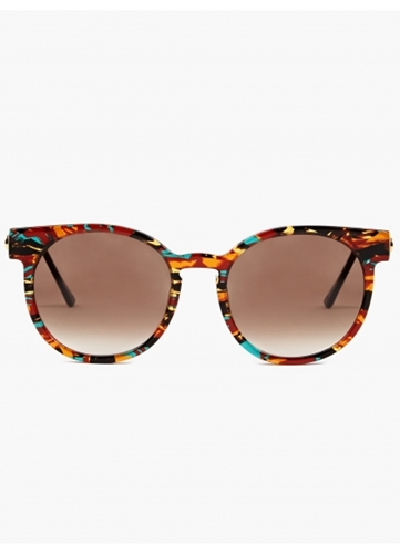 Thierry Lasry 'Painty' Rounded Acetate Sunglasses Oki Ni