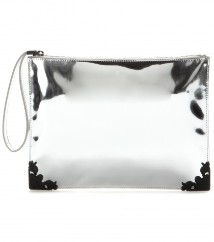 Mytheresa.Com Edge Metallic Clutch Tuesday Current Week New Arrivals Mcq Alexander Mcqueen Luxury Fashion For Women Designer Clothing Shoes Bags