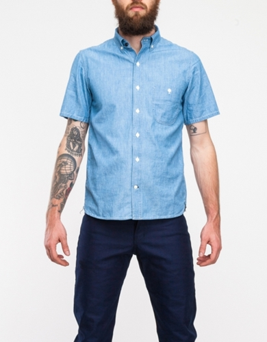 S S Jumper Shirt In Washed Out