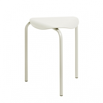 Lukki Stool Stone White Lacquered Stools Furniture Finnish Design Shop