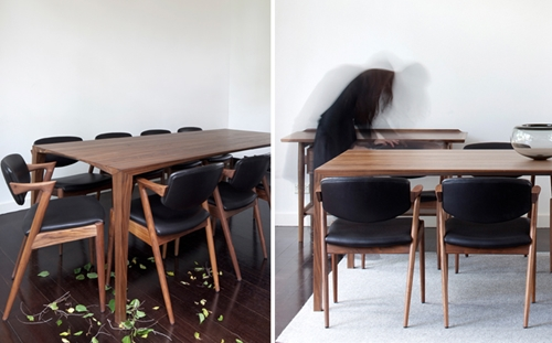 danish and scandinavian dining room tables nuji