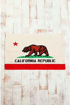 UrbanOutfitters com 2x3 California Rug