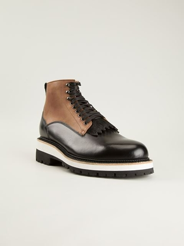 Dsquared2 Lace Up Boots Russo Capri Farfetch.Com