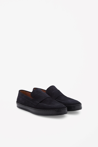 Slip On Suede Shoes