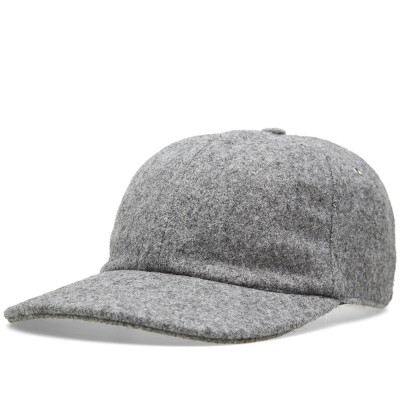 Ami Melton Wool Cap Grey