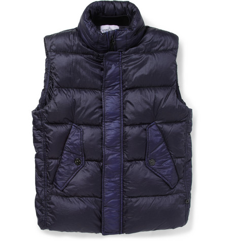 Stone Island Lightweight Quilted Hooded Gilet Mr Porter