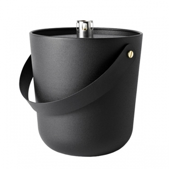 Fire Bucket Wide Black Outdoor Lighting Outdoor Finnish Design Shop