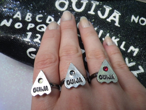 Ouija Ring By Lotusfairy On Etsy