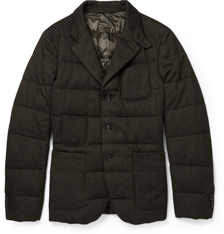 Incotex Montedoro Quilted Down Filled Blazer Mr Porter