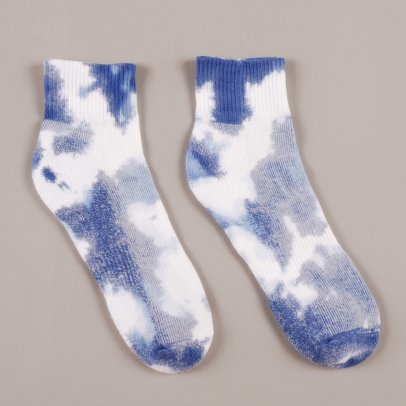 Pam High Dye Sport Socks Navy