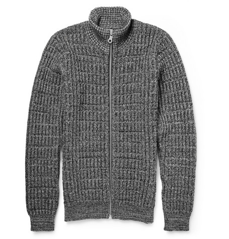 S.N.S. Herning Notation Chunky Knit Wool Cardigan Mr Porter