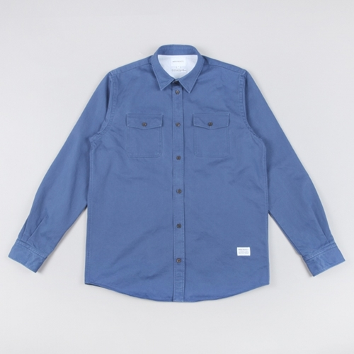 Norse Projects Villads Shirt Blue