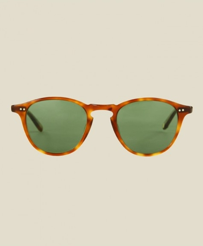 STAG Garrett Leight Hampton Honey Blonde Tortoise SUNGLASSES