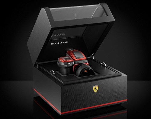 Ferrari x Hasselblad H4D 40 Limited Edition Camera Hi Consumption