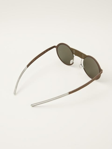 Hapter Round Frame Sunglasses Monocle Farfetch.Com