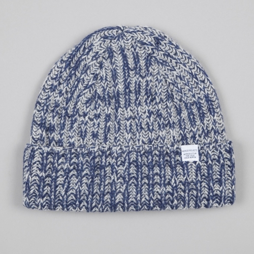 Norse Projects Twisted Yarn Beanie Navy