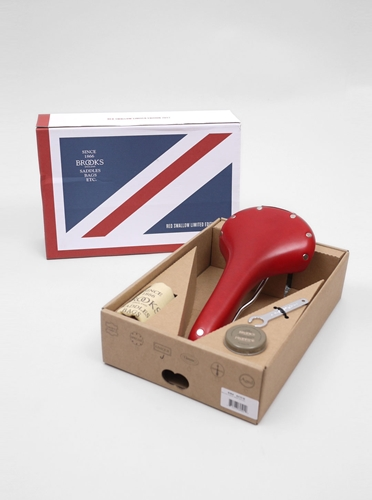 Brooks Limited Edition Saddle Red Present London