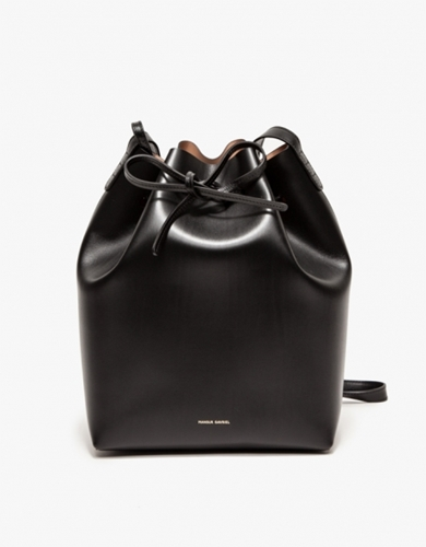 Bucket Bag Black Ballerina