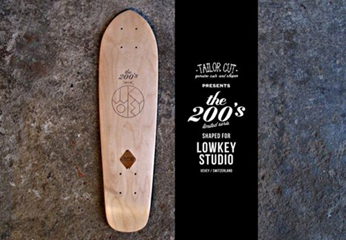 Photo Nouvelles Decks Shapees Pour Lowkey Studio Serie Limitee Disponible Au Shop