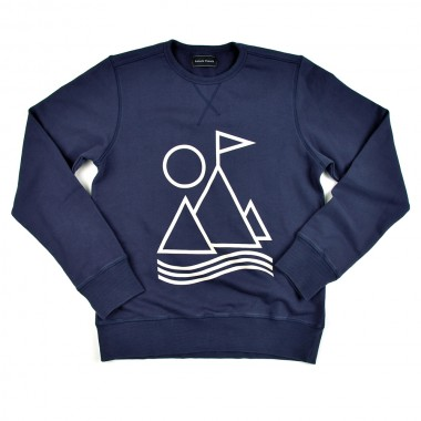 Sixpack France Portland Sweat Navy