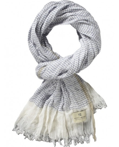 Linen outlook beach scarf Accessories Scotch Soda Online Shop