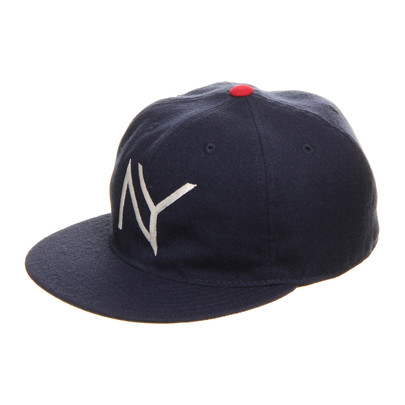 Acapulco Gold X Ebbets Field Ny Fitted Cap Light Navy Hhv.De Shop