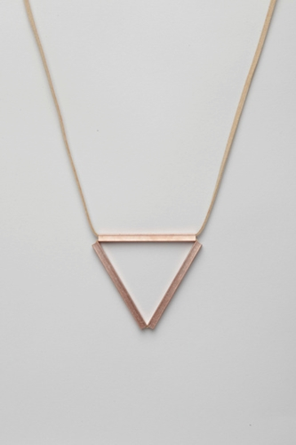 Totokaelo Iacoli McAllister Necklace No 3 Nude Copper