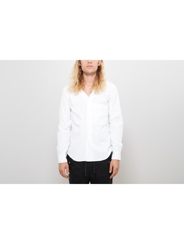 Harmon Varsity Shirt Chalk Oak
