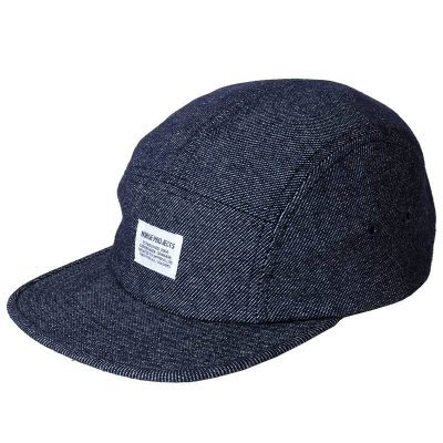 Norse Projects Cotton Wool 5 Panel Cap Light Blue
