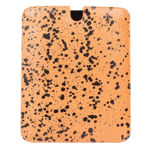 Vlieger Vandam Splash Ipad Case Cognac Black Undscvrd