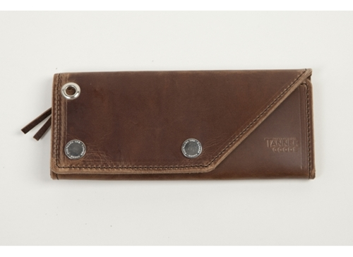 Red Wing Shoes Tanner Goods Workman Wallet Tan