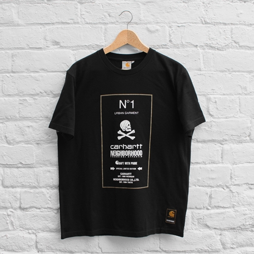 Neighborhood X Carhartt Wip Number One T Shirt Black Multicolour Fusshop