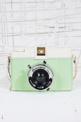 Lomography Diana Dreamer Camera In Mint Green Urban Outfitters