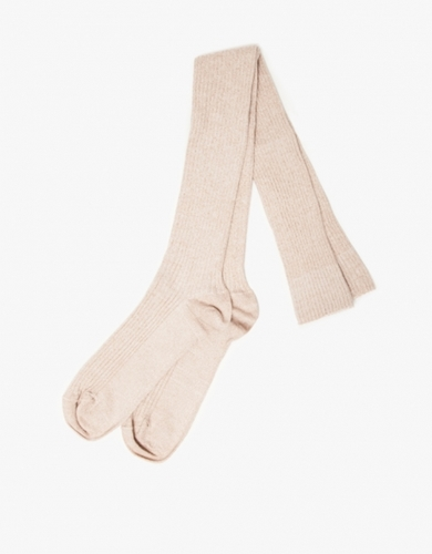 Over Knee Socks In Nude